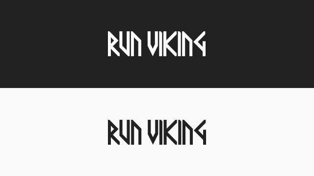 Runviking Small Dualtext